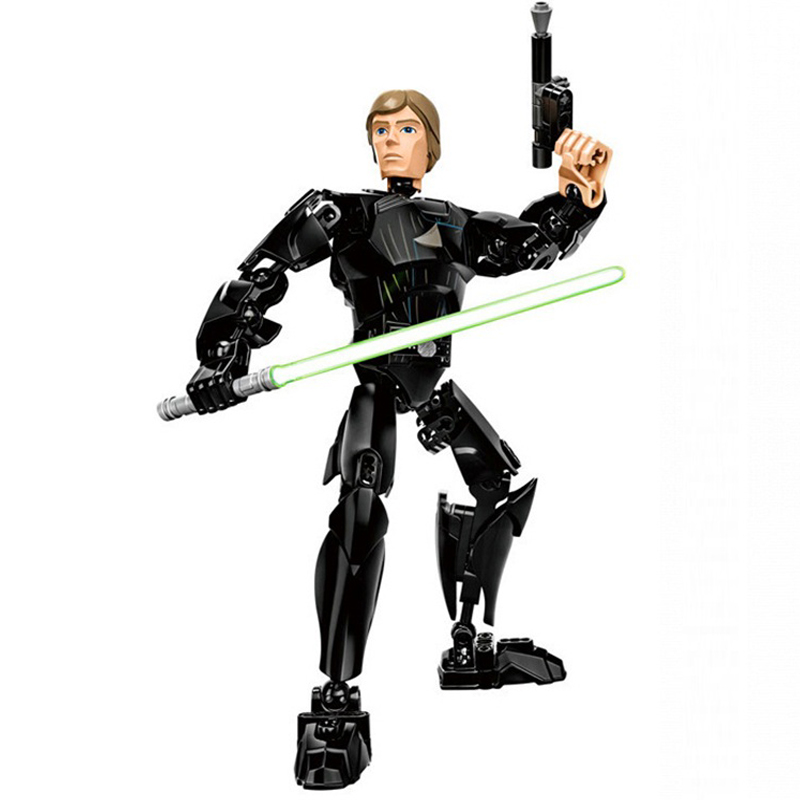 Star Wars Boba Fett Darth Maul Kylo Stormtrooper Phasma Ren Rey Vader Model Assemble Figure Construction Toys For Children 32