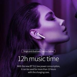 Image 4 - Hoco fone de ouvido sem fio gêmeos, fone de ouvido bluetooth 5.0 com display led, caixa de carregamento mãos livres, música estéreo + capa para iphone 11 pro pro pro