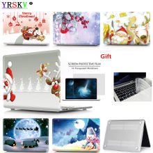 Christmas series Case For Apple Macbook Air Pro Retina 11 12 13 15 inch laptop bag, For Mac book Air Pro 13.3,15.4 Case+Gift(China)