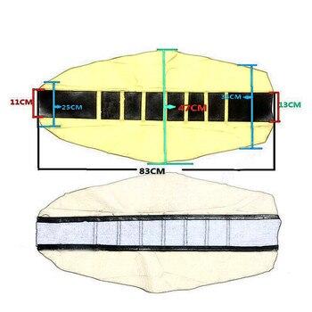 Universal Rubber Vinyl Gripper Soft Seat Cover For SX XC EXC XC-W SX-F 85 105 125 150 200 250 300 350 450 500 525 Dirt Bike