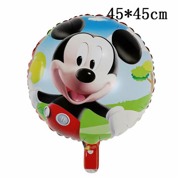 Giant Mickey Minnie Mouse Balloons Disney cartoon Foil Balloon Baby Shower Birthday Party Decorations Kids Classic Toys Gifts 34