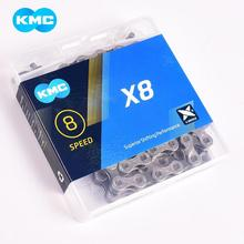 Bicycle Chain KMC chain X8 X8.93 mountain road folding bicycle 6/7/8/18/21/24 speed accessories with missinglink