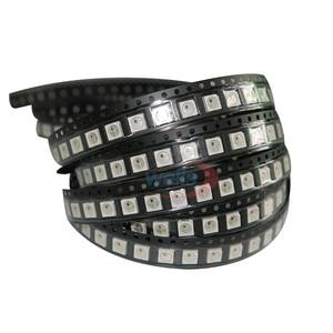 Image 3 - 100~1000pcs WS2812B LED Chip;5050 RGB SMD;WS2812;Individually Addressable Digital;DC5V;Black/White version