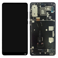 5.99 Polegada original lcd para xiaomi mi mix 2s display lcd tela de toque digitador assembléia + quadro para xiaomi mi mix2s display lcd