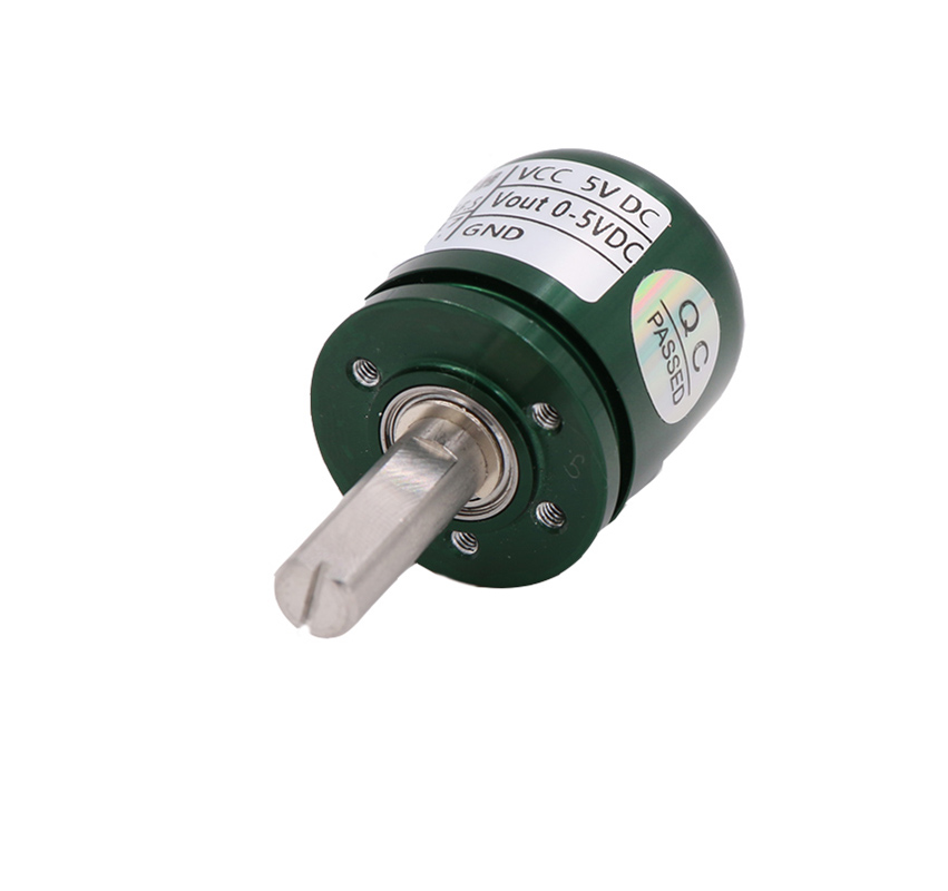 0-360 Degree Rotary Hall Angle Sensor Full Circle Without Dead Angle Magnetism Clockwise Rotation Of The Rotary Shaft 5V DC