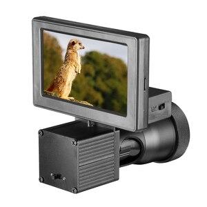 Night vision HD 1080P camera 4.3 inch display conjoined infrared illuminator Riflescope hunting optical system(China)