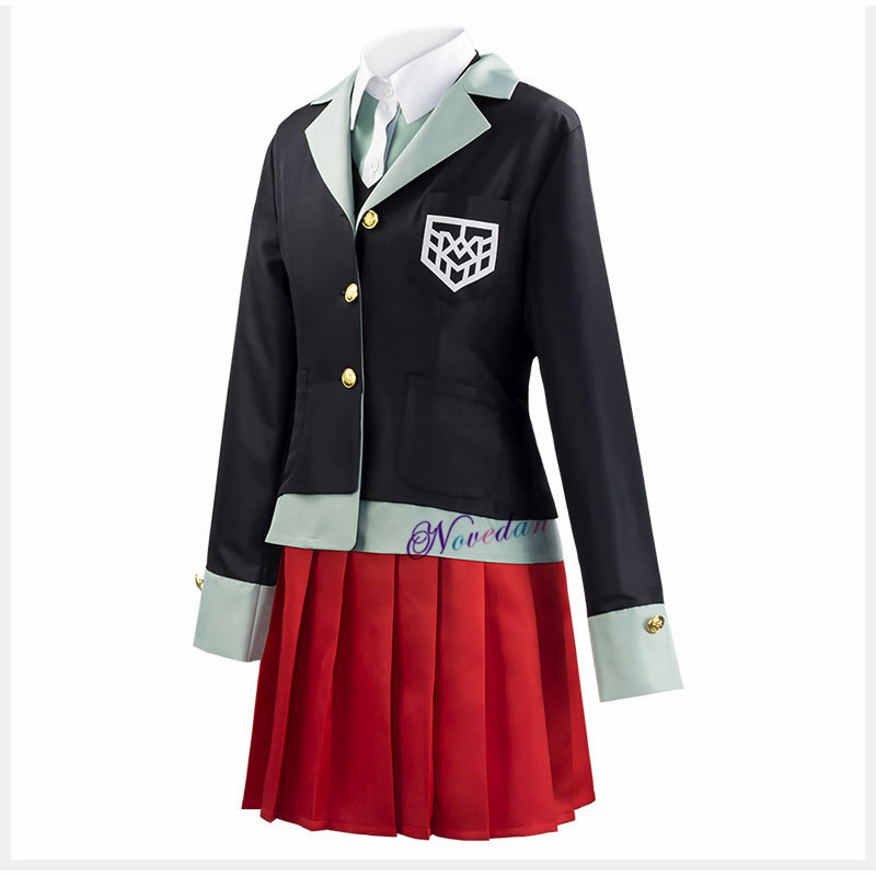 Anime Danganronpa Yumeno Himiko Cosplay Costum Halloween Party Japanese Uniform