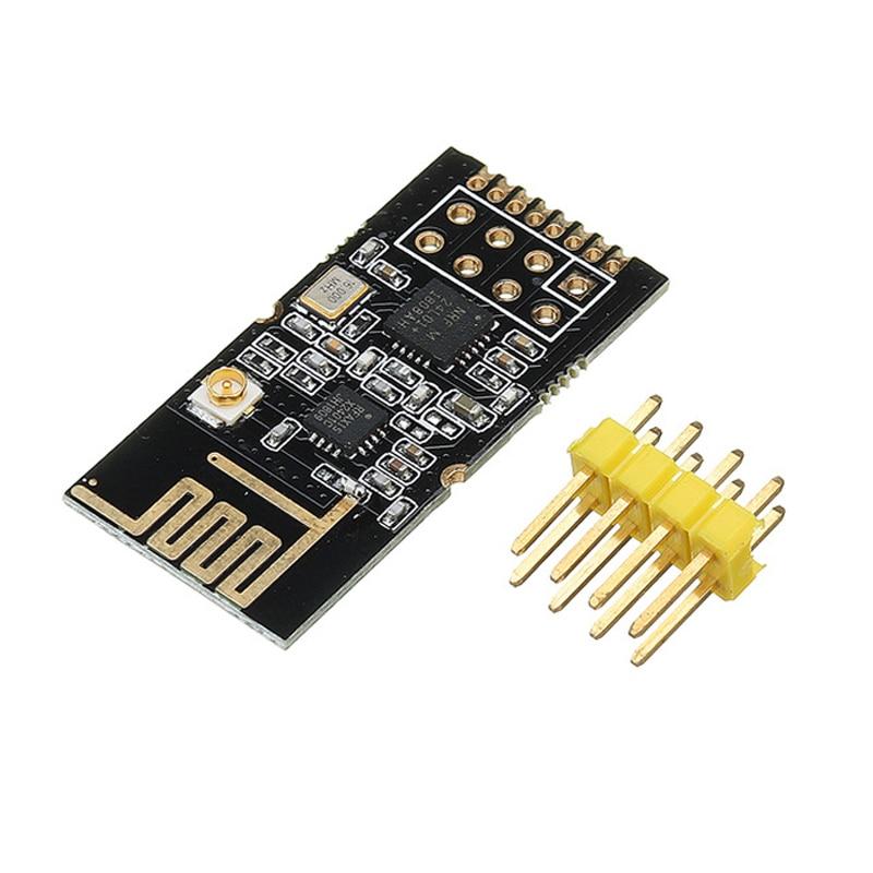 GT-24 Wireless Module 2.4G NRF24L01+PA+LNA Industrial Grade Digital Transmission Wireless Module 1100M Long Distance SMD