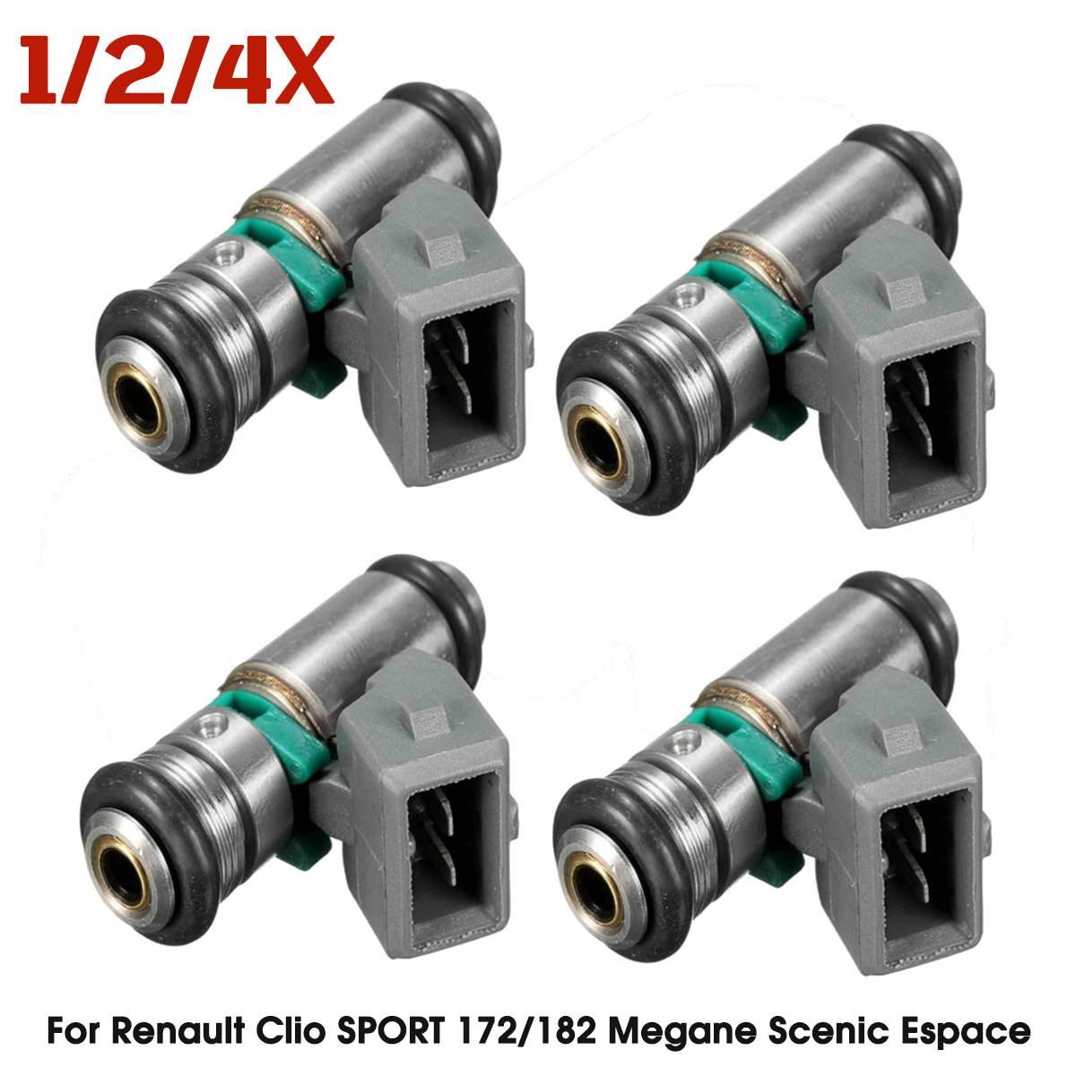 Petrol Fuel Injector IWP042 8200028797 8200207049 for Renault Clio SPORT 172 182 Megane Scenic Espace Laguna TLAGUNA TESPACE