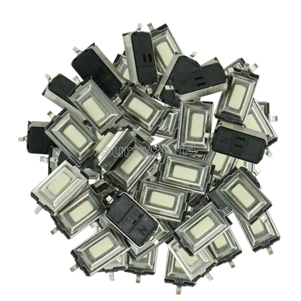 100PCS/LOT SMD 3*6*2.5 MM Tactile Tact Push Button Micro Switch Momentary Two Pin For MP3 MP4