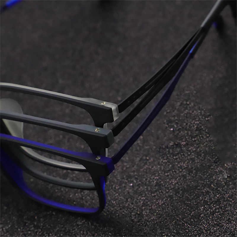 Vazrobe óculos de titânio quadro masculino mulher fosco preto óculos oversized 6g ultra-leve eyewear para prescrição miopia diopter