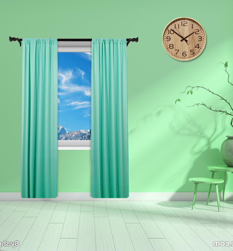 Light Green 108 Inch Tulle Fabric Backdrop 59x108 Inch Sheer Curtains For Living Room Chiffon Curtain Mint Green M190919 Curtains Aliexpress