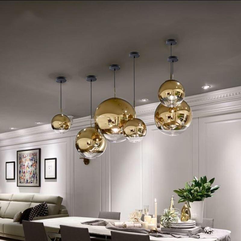 cheapest New Modern Chandeliers Lighting Crystal Stair Chandelier For Living Room Loft Kitchen Led Cristal Ball Lights                              Lustre
