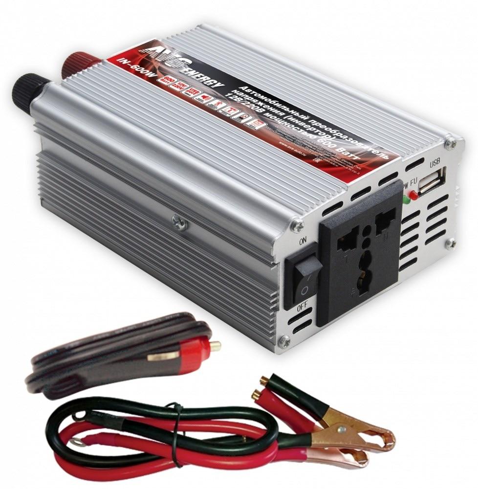 Onduleur de voiture 12 V/220 V AVS IN-600W