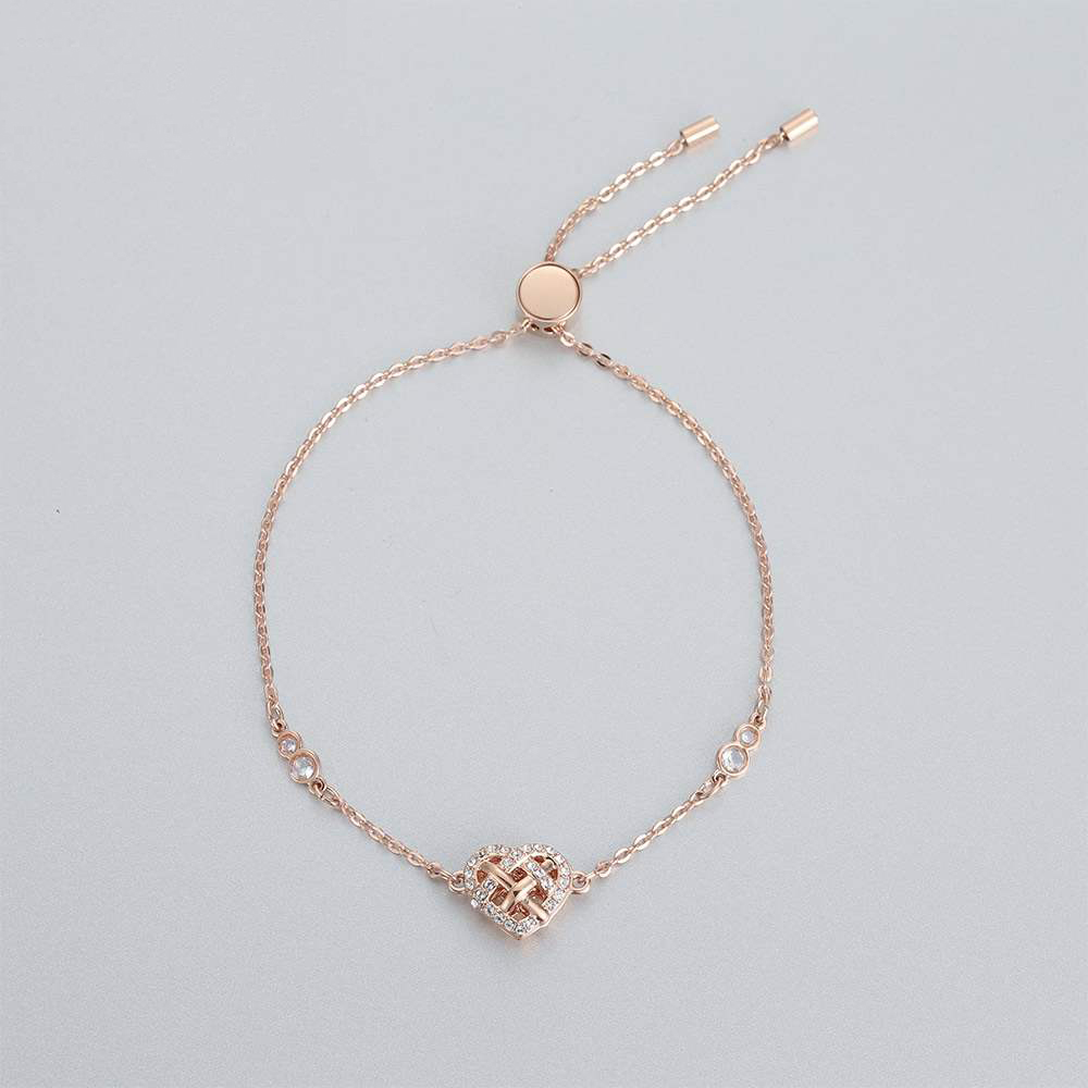 High Quality SWA Fashion Design and Decorative Women 39 s Button Bracelet in Chain amp Link Bracelets from Jewelry amp Accessories