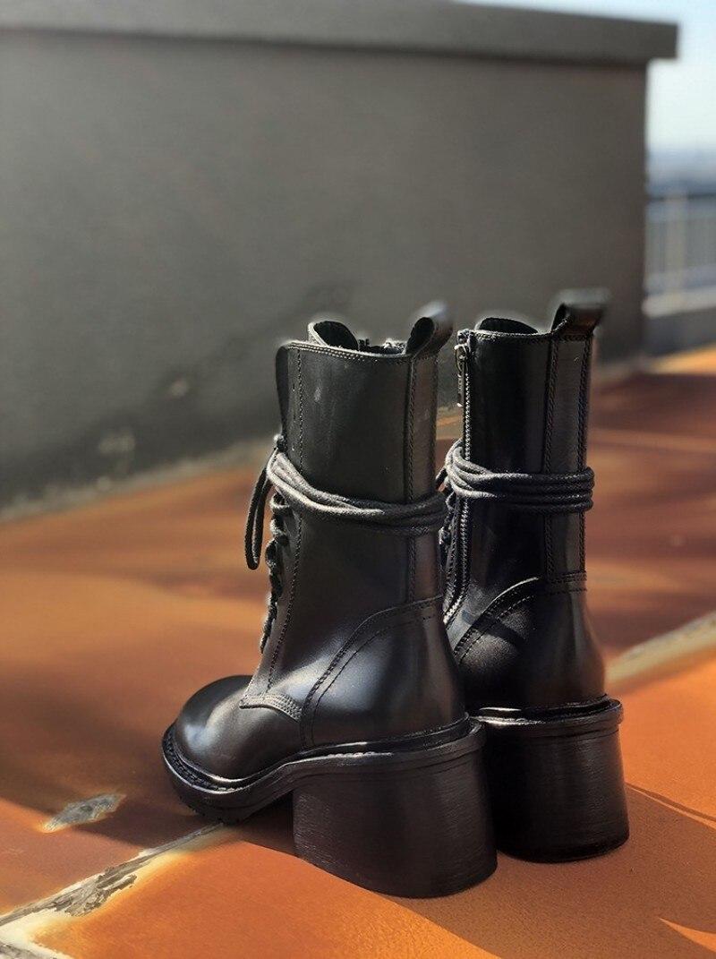 Botas de cano médio