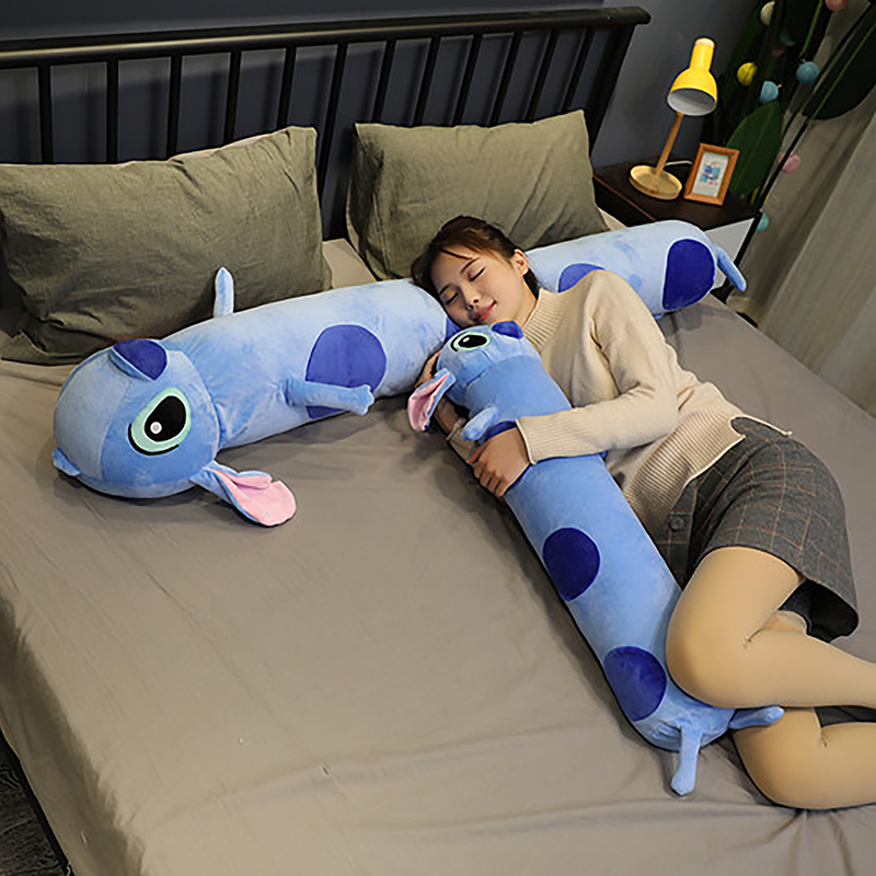 Big Stuffed Giant Cartoon Stitch Lilo & Stitch Plush Toy Sleeping Pillow Stuffed Toy Birthday Christmas Children Kids Gifts