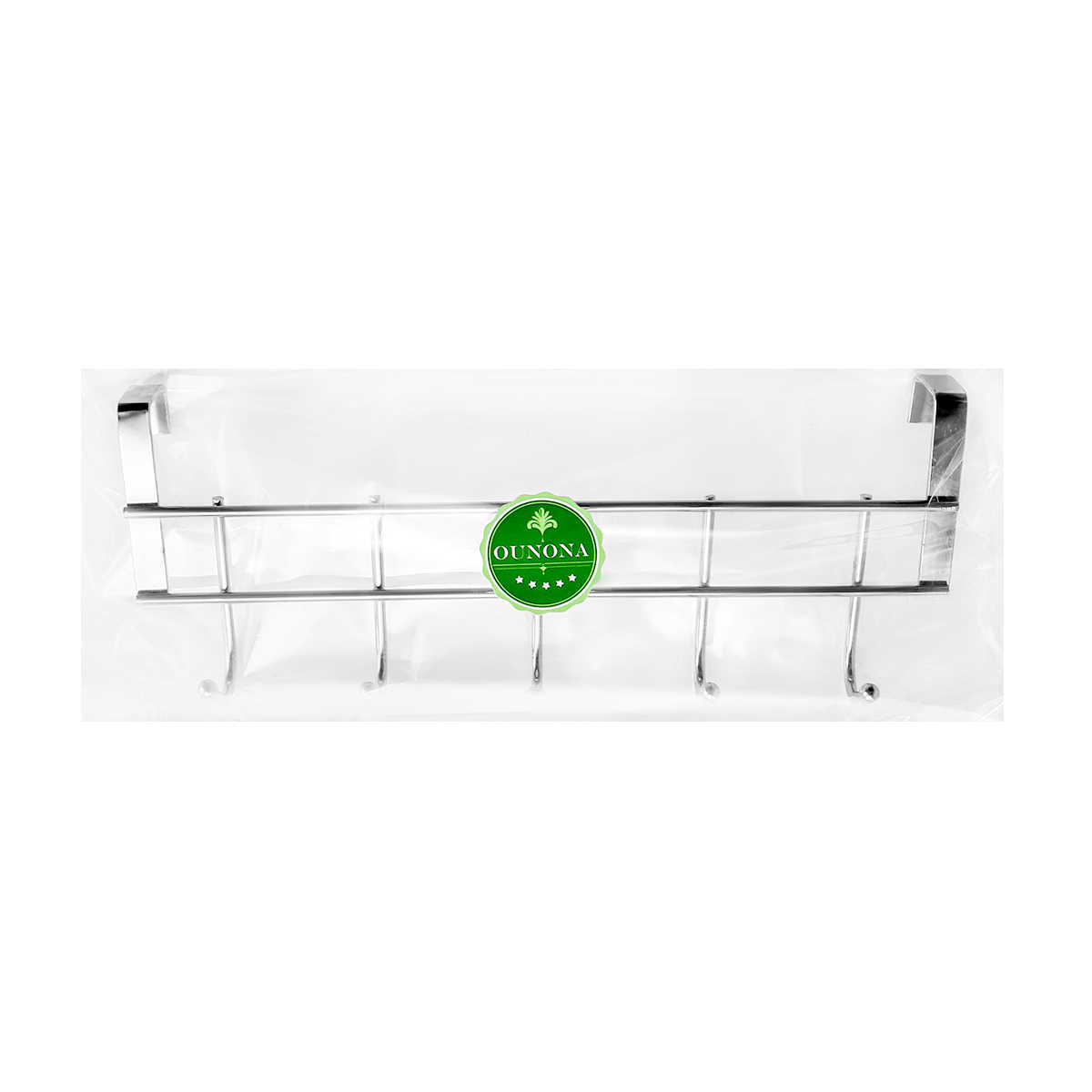 Ounona Multifunctionele Rvs Haken Keukenkast Kleren Thuis Opslag Hanger Badkamer Handdoek Deur Haken Te Hangen