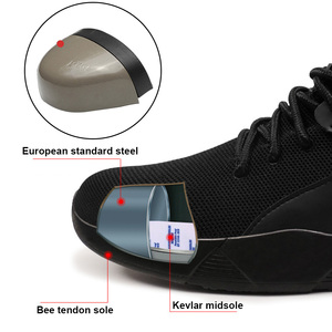 Image 3 - Buty robocze bhp kobieta i mężczyźni mają zastosowanie stal zewnętrzna Toe Anti Smashing ochronne antypoślizgowe odporne na przebicie obuwie ochronne