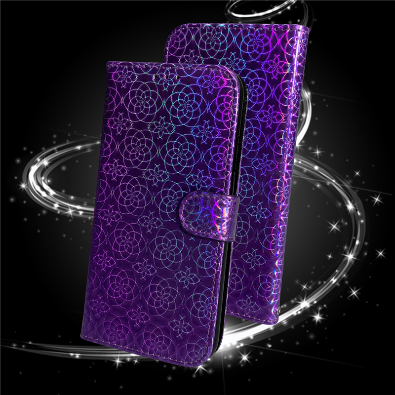 Gradient Colorful PU Leather Case for iPhone 11/11 Pro/11 Pro Max 8