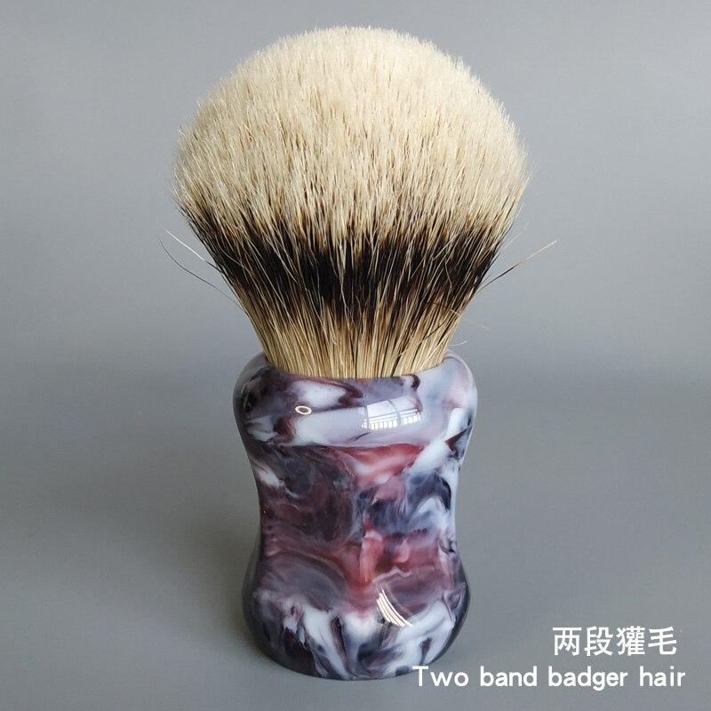 Dscosmetic 26 мм плотные 2 диапазона помазок для бритья из барсучьего волоса с хорошей основой