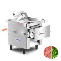 Jamielin manual elétrico cortador de carne comercial máquina de corte de carne automática completa máquina de processamento de carne