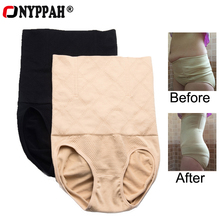 ONYPPAH High Waist Shaping Panties Breathable Body Shaper Slimming Tummy Underwear panty shapers