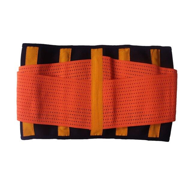 Women Body Waist Belt Shapers Unisex Cincher Trimmer Tummy Slimming Belt Latex Waist Trainer Woman Postpartum Corset Shaper 4