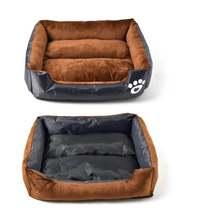 2021 nova cama de cachorro inverno pegada canil ninho gato quente pet sofá cama confortável e macio animais de estimação almofada de dormir acessórios