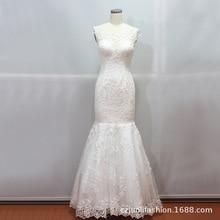 2020 は vestido デ noiva vestidos デ · フェスタ curto 外装シングル輸出レースイブニングドレスエレガントなフィッシュテイルウェディング宴会