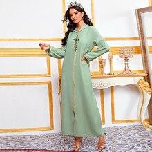 Caftan Marocain Abaya Dubai Turkey Islam Kaftan Muslim Hijab Dress African Dresses For Women Robe Arabe Musulman Djellaba Femme