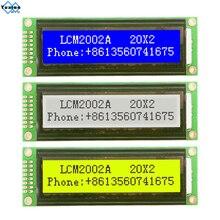 2002 20X2 2002A Lcd Display Module Karakter Groen Wit Blauw 5 V LCM2002A Compatibel LMB202D WH2002 1 Pcs gratis Schip