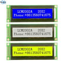 2002 20x2 2002A LCD display module character green  white blue 5v  LCM2002A compatible LMB202D WH2002 1pcs free ship