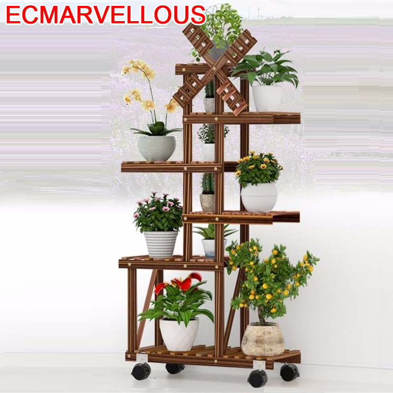 Plante Rak Bunga Indoor Balkon Estanteria Escalera For Soporte Plantas Interior Rack Dekoration Balcony Flower Shelf Plant Stand
