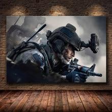 Póster Artístico de lienzo de Call Of Duty e impreso pintura lienzo sin marco cuadro decorativo para dormitorio hogar Cuadros Decoración