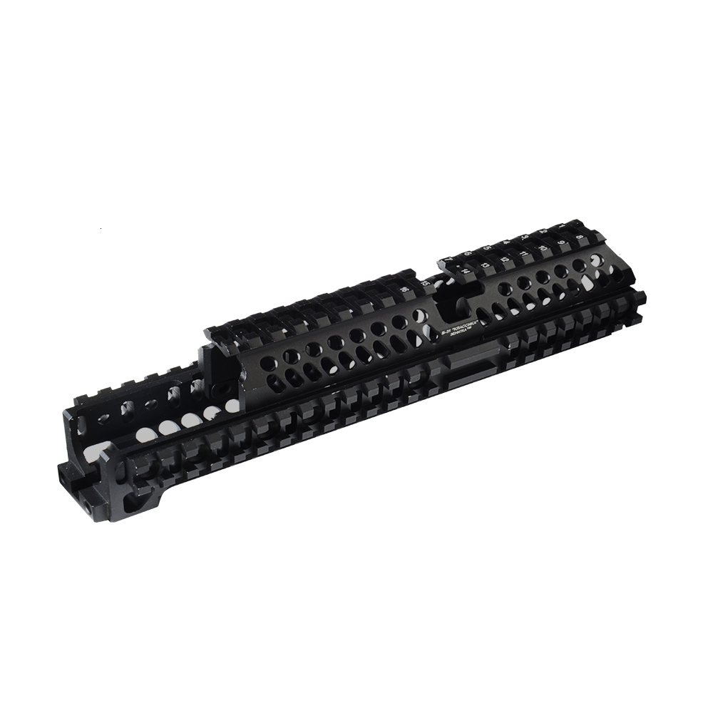 Tactifans Model AK 47 Tactical Picatinny Rail Handguard System Aluminum Alloy B30 B31 Hunting Party Supplies Airsoft Accessories