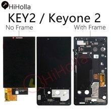 עבור BlackBerry מפתח 2 LCD תצוגת מסך מגע Digitizer עבור BlackBerry Key2 LCD Keyone 2 KeyTwo מסך עם החלפת מסגרת