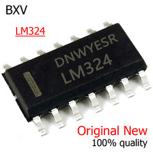 10PCS LM324 LM324D SOP14 LM324DR SOP 324 SOP-14 SMD new and original IC Chipset BXV