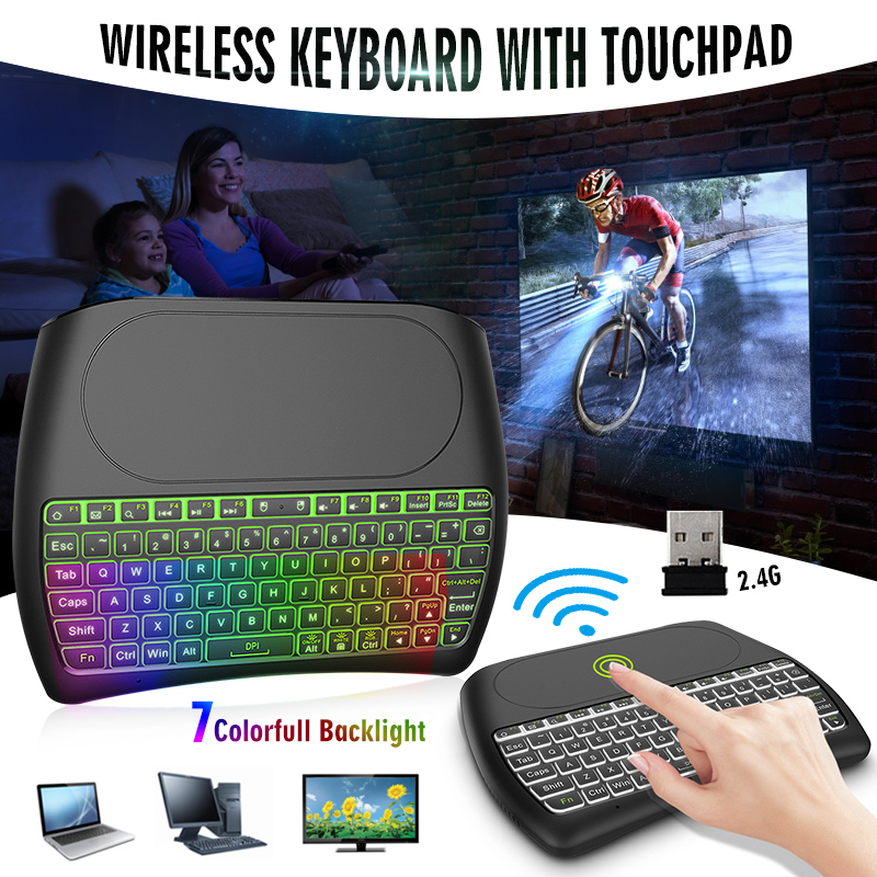 D8-S Air Mouse Wireless Keyboard 2.4GHz Mini Fly Mouse Keyboard As Remote Control For Andriod Smart TV BOX Laptop PC