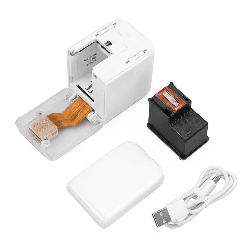 Mbrush Mini Printer Warna-warni Handheld Inkjet Printer Mini untuk Ponsel USB WIFI untuk IOS Android Cetak Logo Foto Pada Setiap bahan