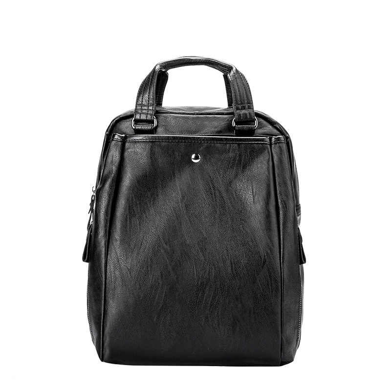 On sale New 2019 Women ladies Genuine Leather Backpacks for Teenage Girls Female School Shoulder Bag bag pack mochila hot C1152