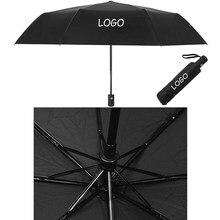 De moda Paraguas para Audi Peugeot Lexus para Jeep VW Ford Toyota lluvia emblema Paraguas de moda Bumbershoot coche Gadget
