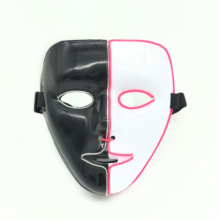 el party mask neon rave For Halloween tomorrow land scary cosplay Masks
