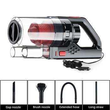 цена на 150W 6000PA DC 12V Car Vacuum Cleaner High Power Wet/Dry Handheld Portable Auto Vacuum Cleaner Car Styling