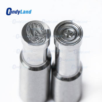 CandyLand Captain Logo Tablet Die 3D Pill Press Mold Candy Punching Die Custom Logo Calcium Tablet Punch Die For TDP 0 Machine