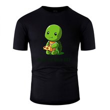 Print Awesome Ninja Diet Green T Shirt Man 100% Cotton Classic Tshirt For Mens Streetwear Oversize S-5xl Hip Hop(China)