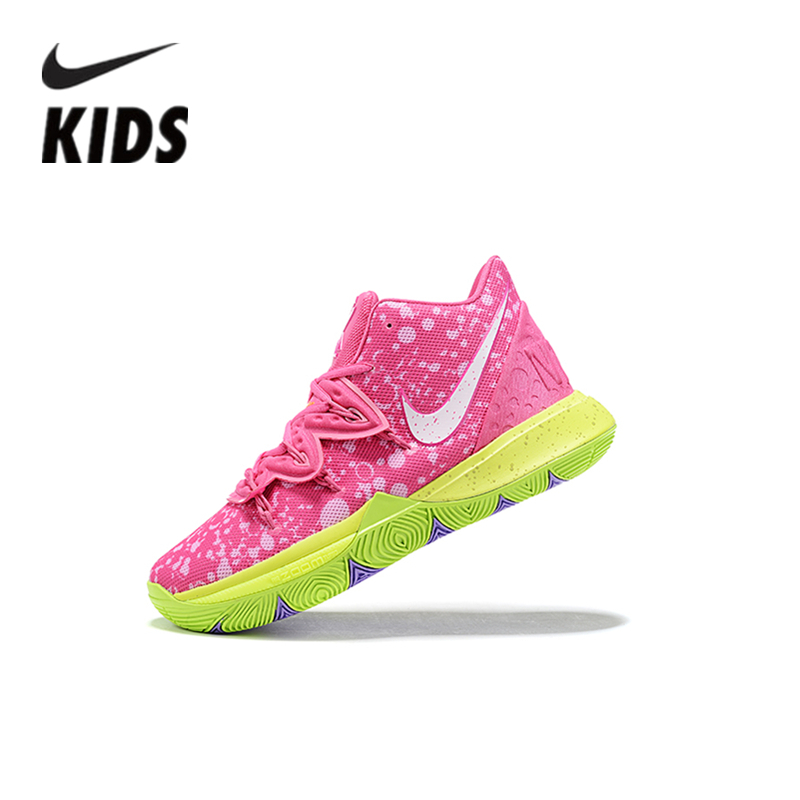 Nike Kyrie5 Kids Shoes Air Cushion Serpentine Children Basketball Shoes AA4060-200