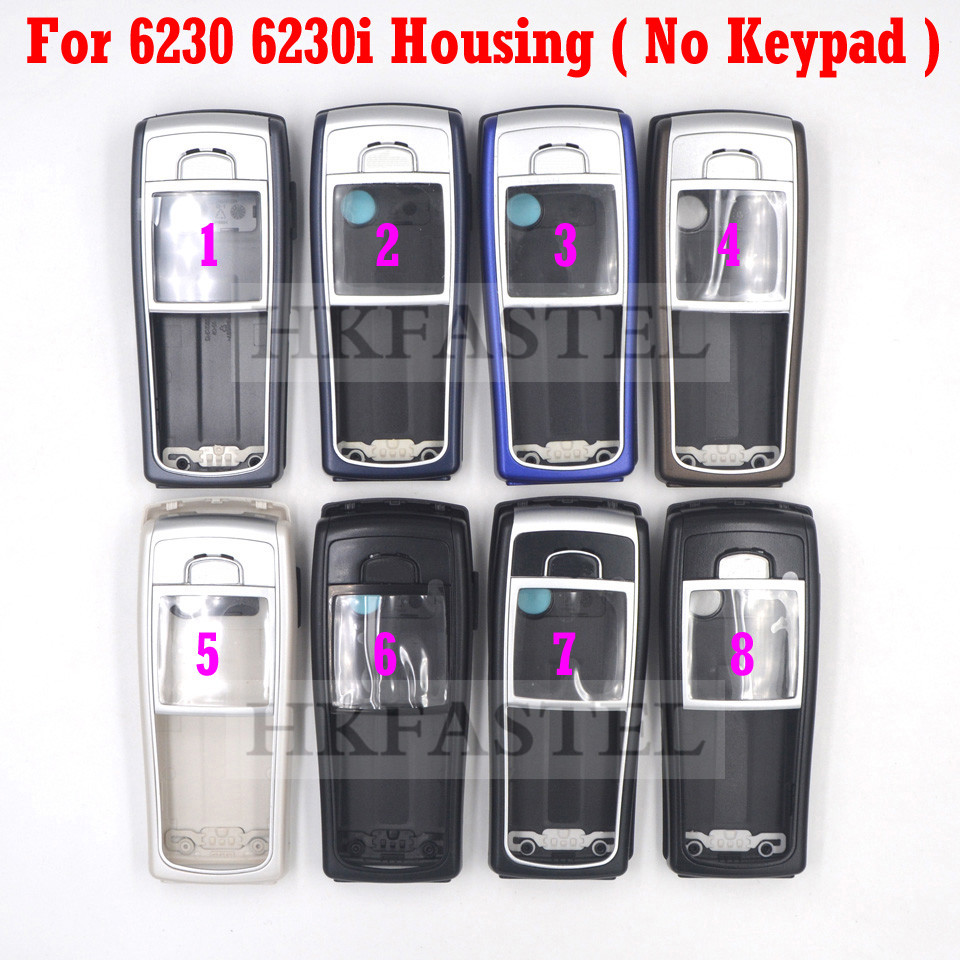 5A High Quality Housing For Nokia 6230 6230i New Full Complete Mobile Phone Cover Case  (No Keypad )