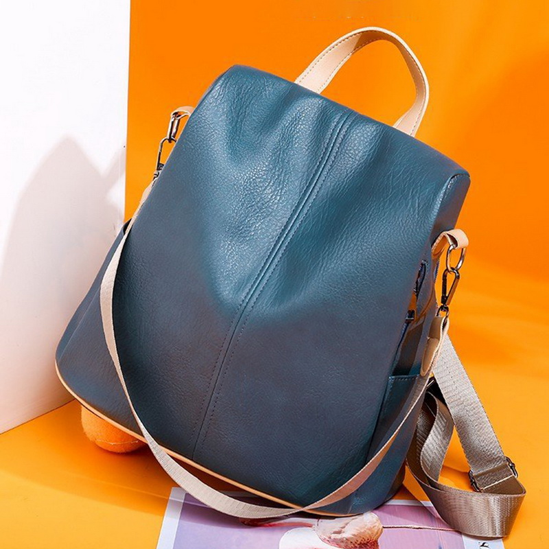H5ae607e8a78f463a980c6add543c99eeb - Fashion Women Waterproof Travel Backpack Anti-theft Oxford Backpack Female School Bags Bagpack For Girls Shoulder Bag