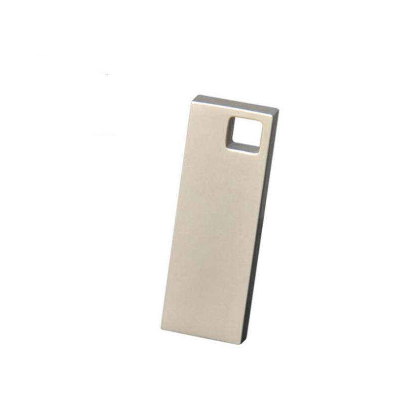 Metal USB Flash Drive  64GB Pendrive 32GB USB Stick Flash Disk 8GB 16GB 128gb USB3.0 Pen Drive Memory Stick Custom Logo Concise